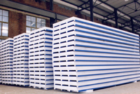 Sandwich panel construction outer wall