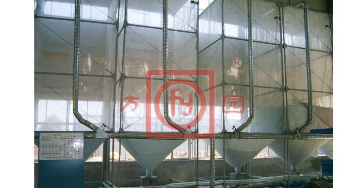 Penumatic control silos system