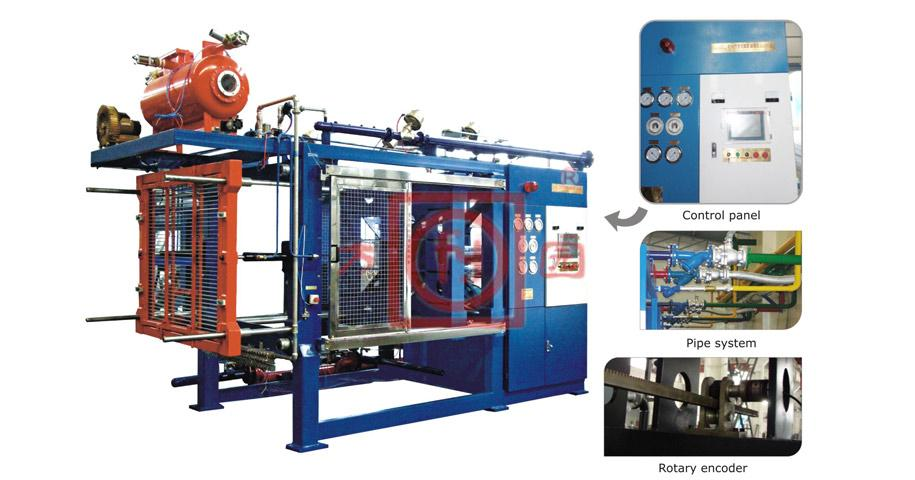 EPS Automatic Shape Moulding Machine with vacuum-Basic-SPZ100-200A-B