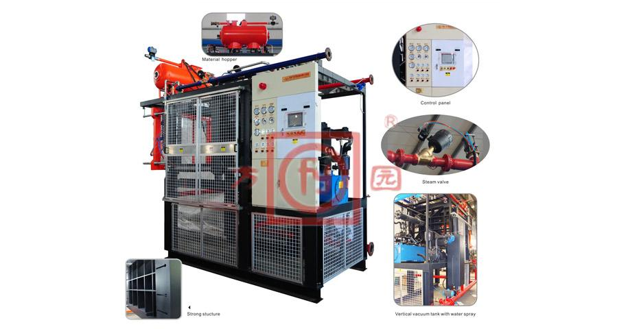 EPS Automatic Shape Moulding Machine with Vacuum-Typical-SPZ100-200T