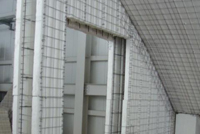 3D wire mesh panels outer wall